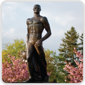 Sparty statue photo