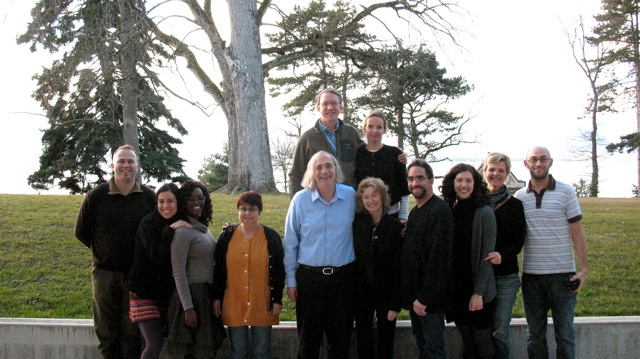 Len Fleck with Brocher Fellows and staff in 2011